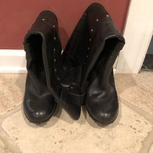 Kork-Ease black tall boots size 9.5.